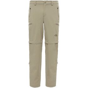 The North Face Exploration Pantalon convertible avec fermeture éclair Long Homme, dune beige